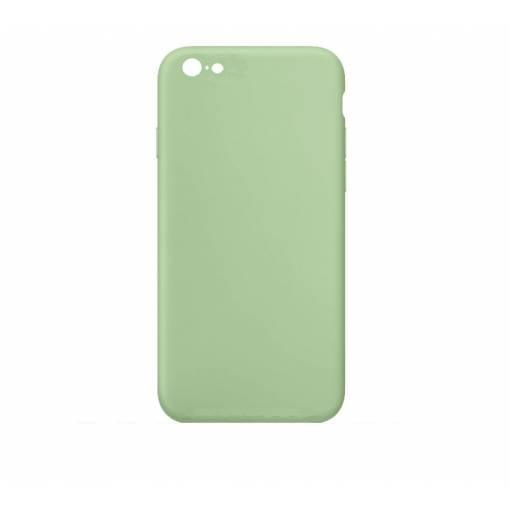 Silikonový kryt pro iPhone 5 5S - světle zelený  60cba392b87